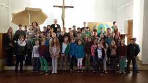Abschlussgottesdienst in der Heilig-Geist-Kirche des 4. Jahrgangs 24.6.15