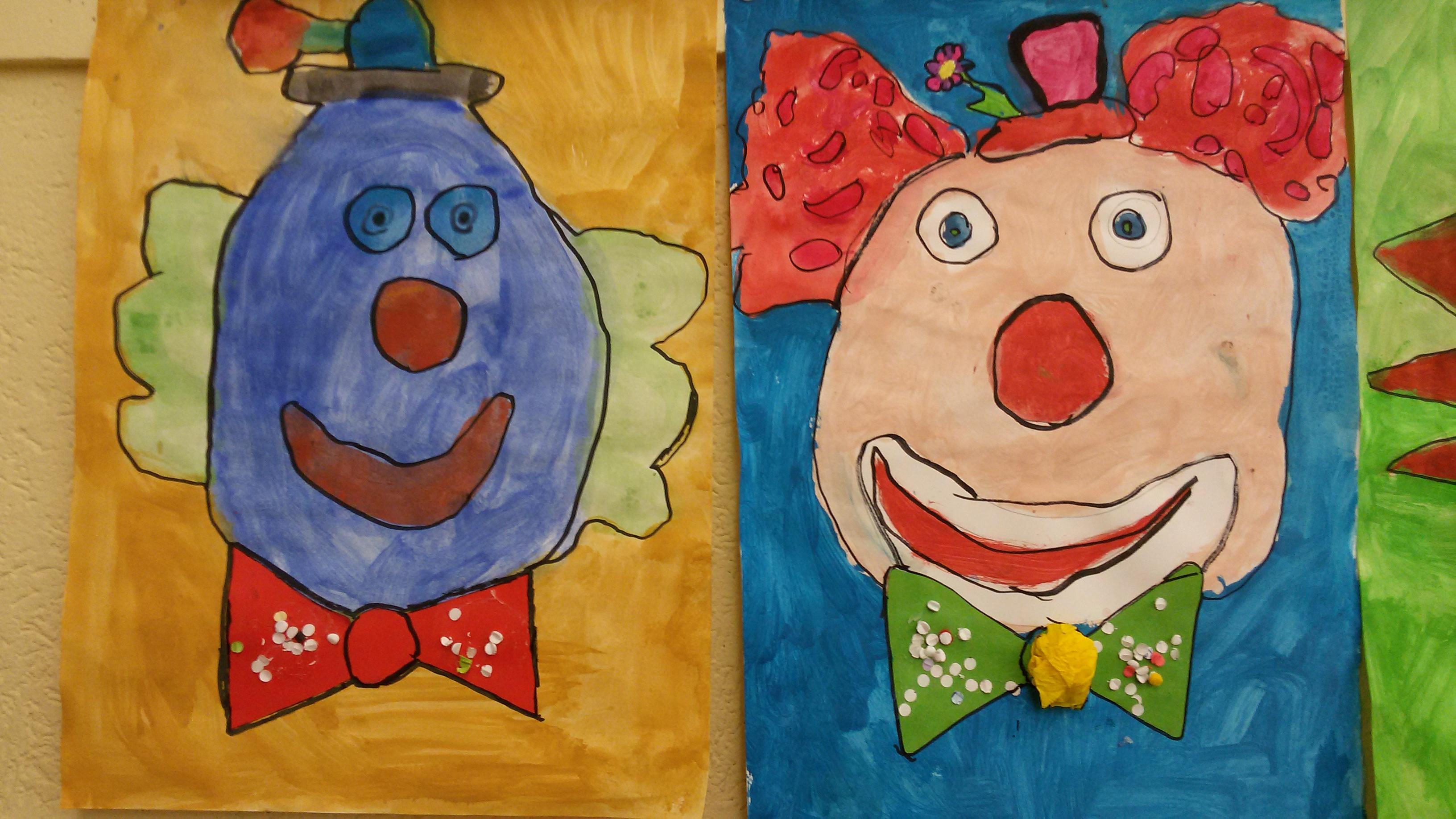 Clowns In Der 3b Ggs Paffrathggs Paffrath