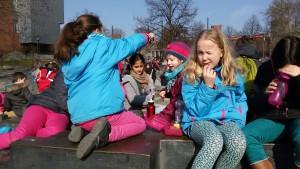 Picknick am Brunnnen
